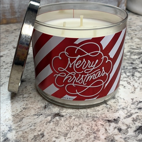 Merry Christmas 3 wick candle